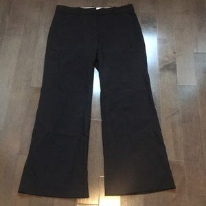Size 4 Theory Black wide leg dress pants